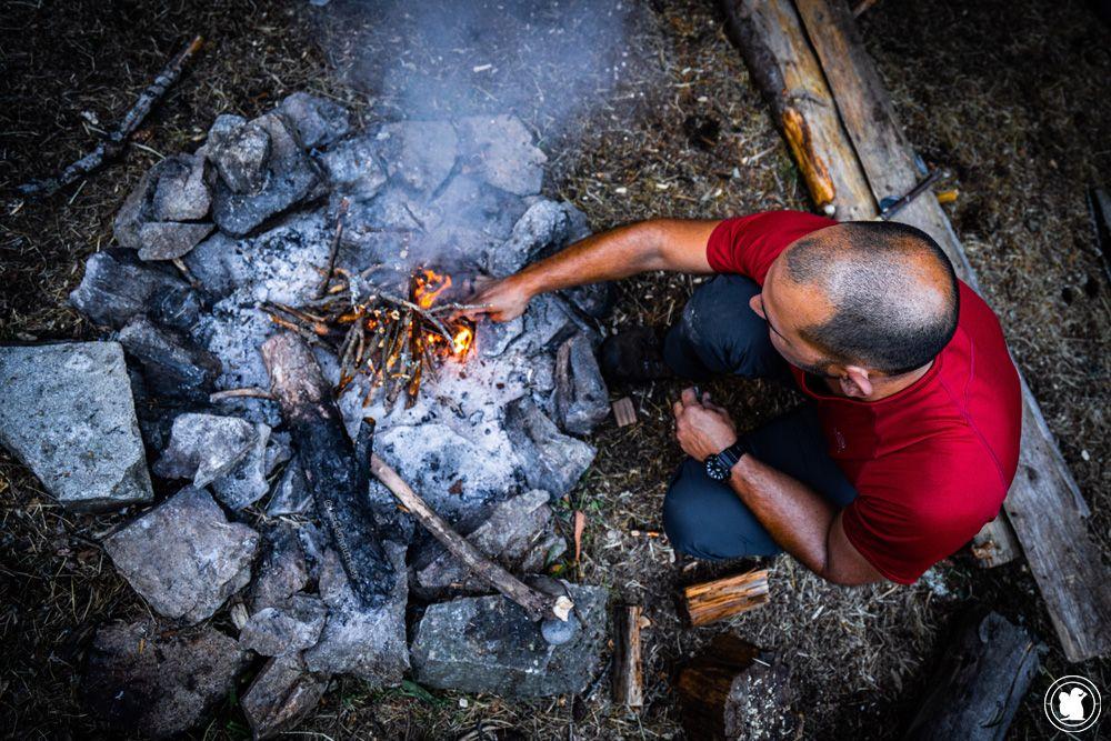 Stage de survie - Allumer un feu