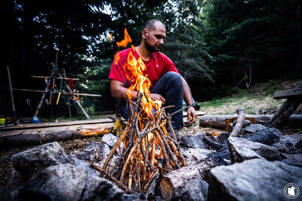 Stage de survie - Faire du feu
