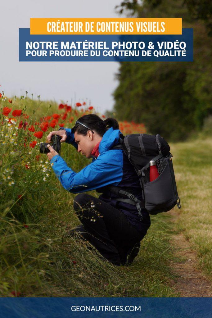 Voici notre matériel photo et vidéo complet pour créer du contenu de haute qualité pour des marques et entreprises. #photo #vidéo #createurcontenu