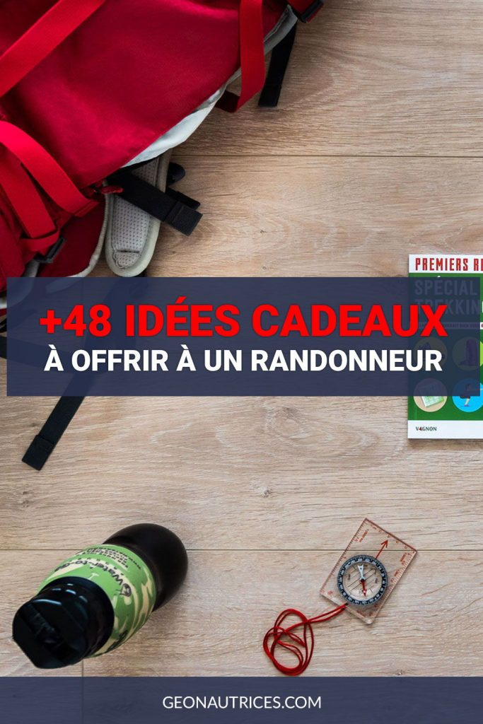 Voici une sélection de 48 idees cadeaux à offrir à un randonneur ou une randonneuse. Noël, anniversaire, départ... Toutes les occasions sont bonnes !