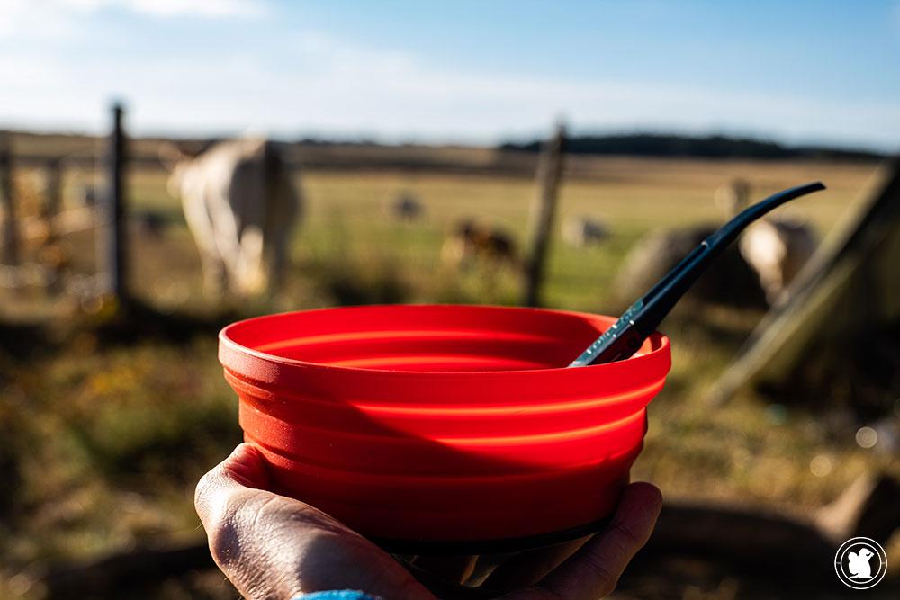 Manger en bivouac en randonnée itinérante - Chemin de St-Guilhem