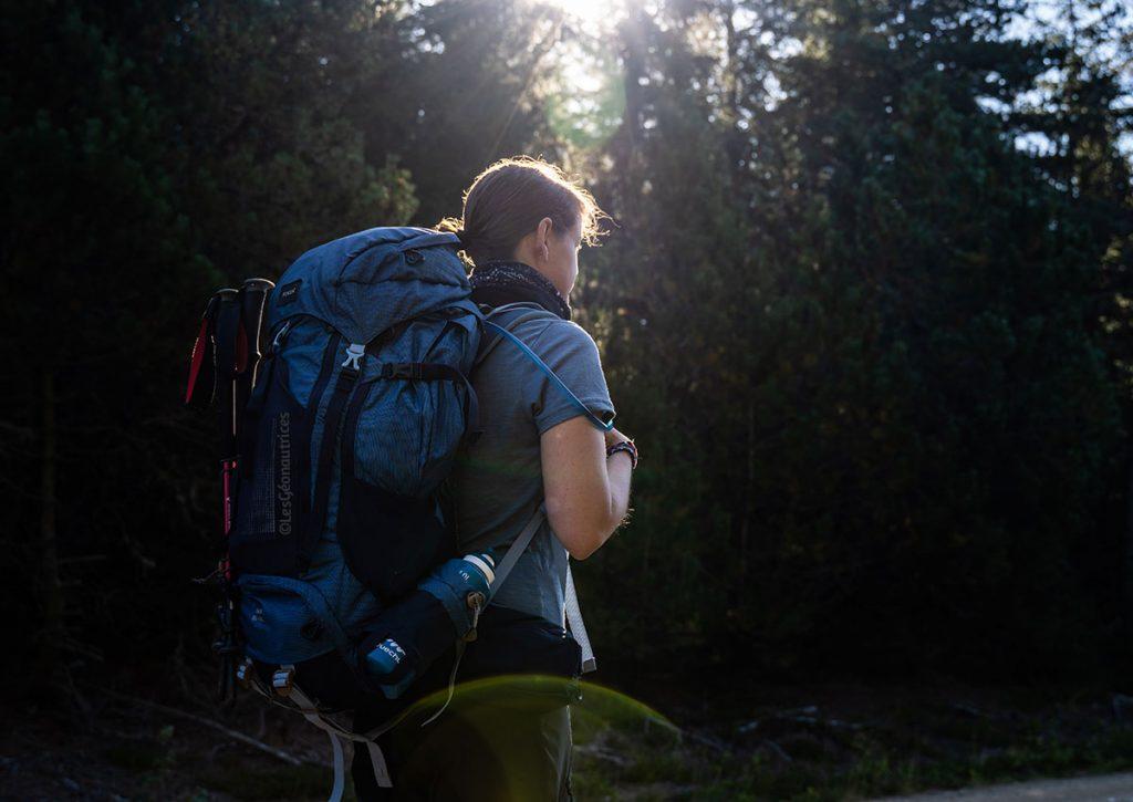 Équipement longue randonnée