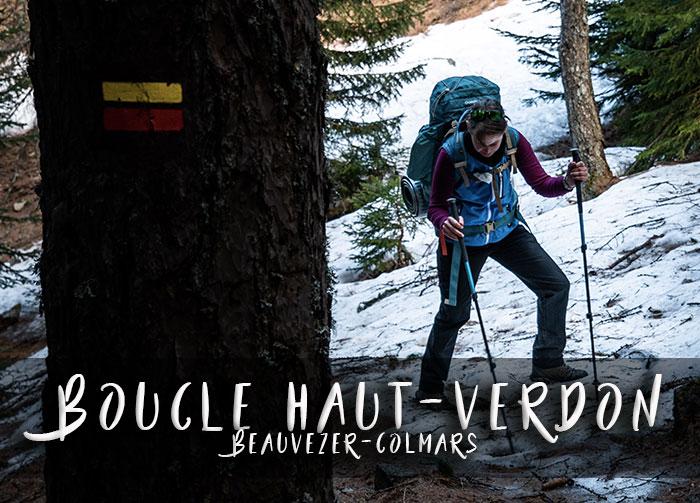 Haut-Verdon Beauvezer-Colmars Boucle 2 jours