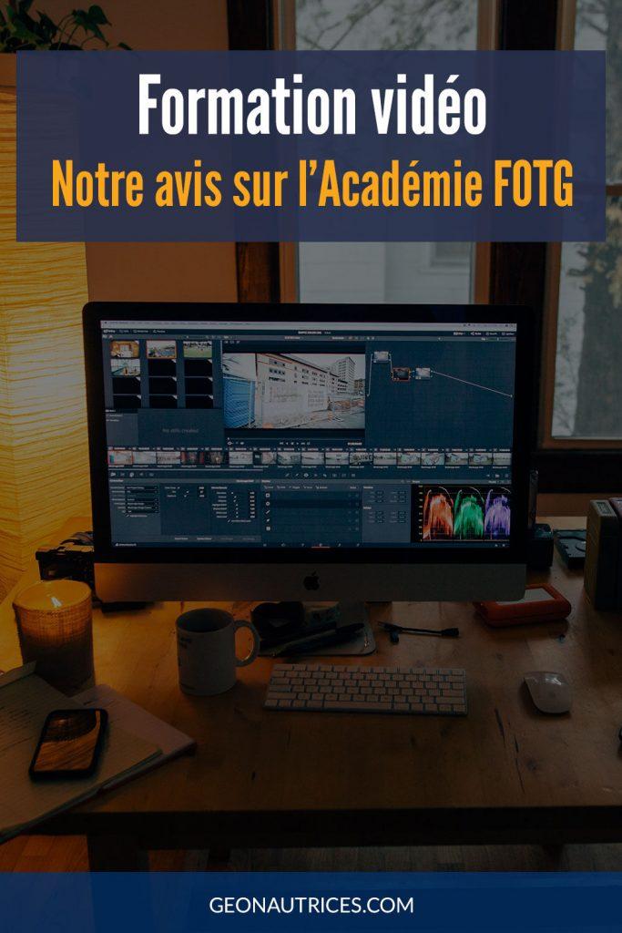 Notre avis sur la formation vidéo FOTG pour apprendre à faire des vidéos pro et devenir vidéaste. #formation #video #videaste #fotg