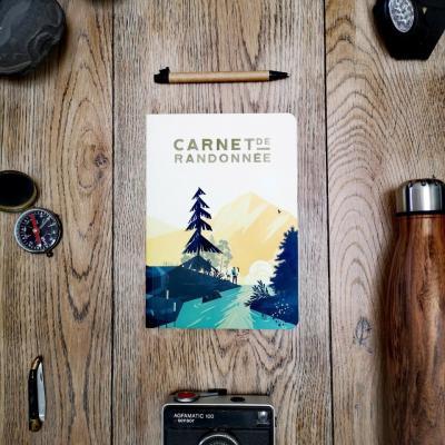 carnet randonnée aventura éditions
