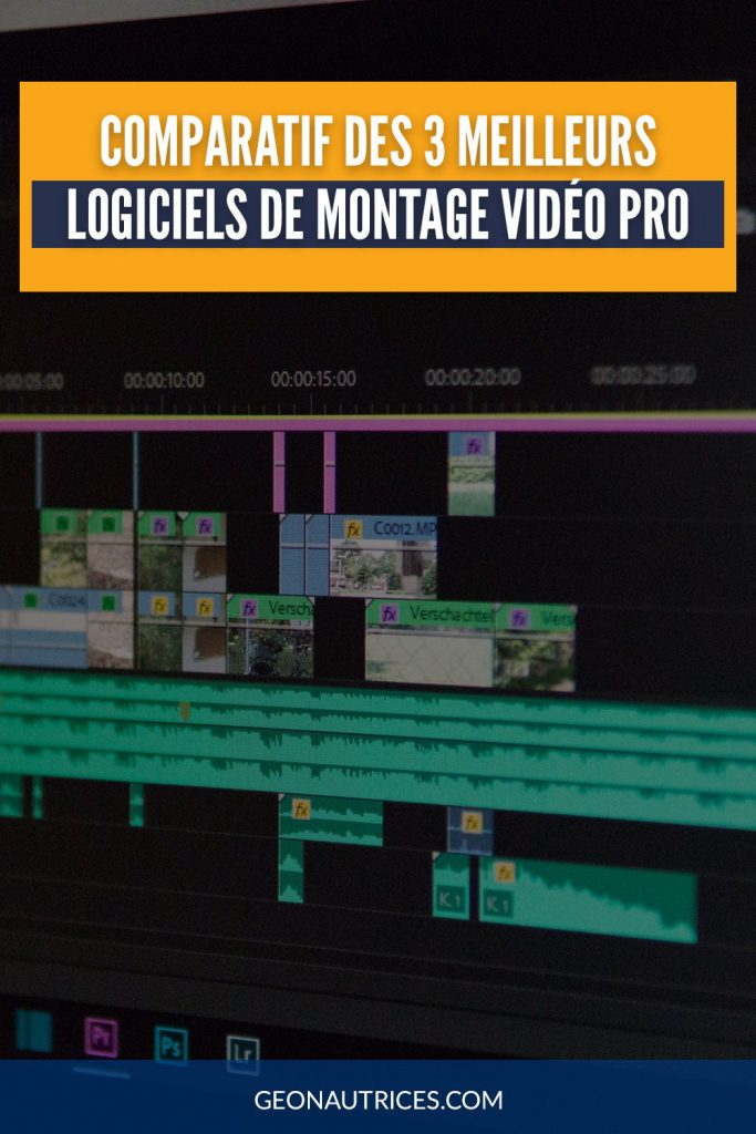Comparatif des 3 meilleurs logiciels pour le montage video pro. #comparatif #montage #logiciel #video