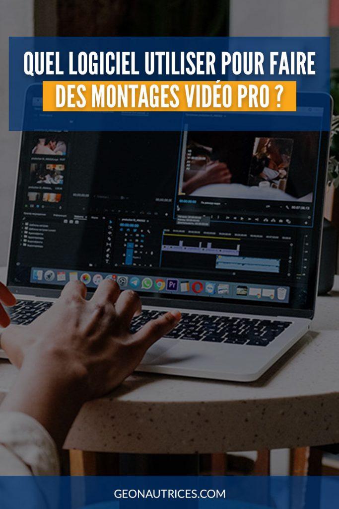 Quel logiciel de montage vidéo pro utiliser ? Voici notre avis et comparatif. #montage #video
