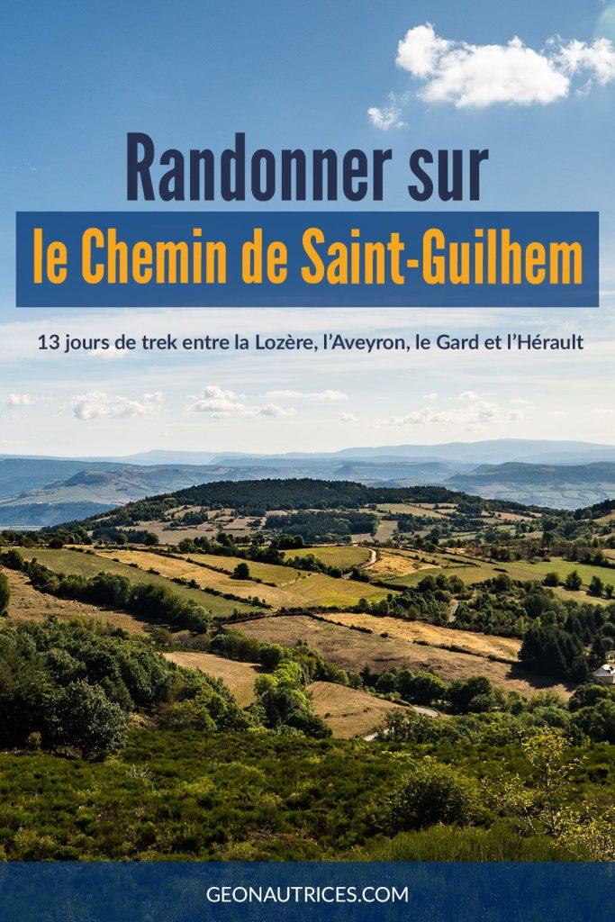 13 jours de randonnée sur le Chemin de Saint-Guilhem. Entre la Lozère, l'Aveyron, le Gard et l'Hérault.  #randonnée #saintguilhem #trek #france