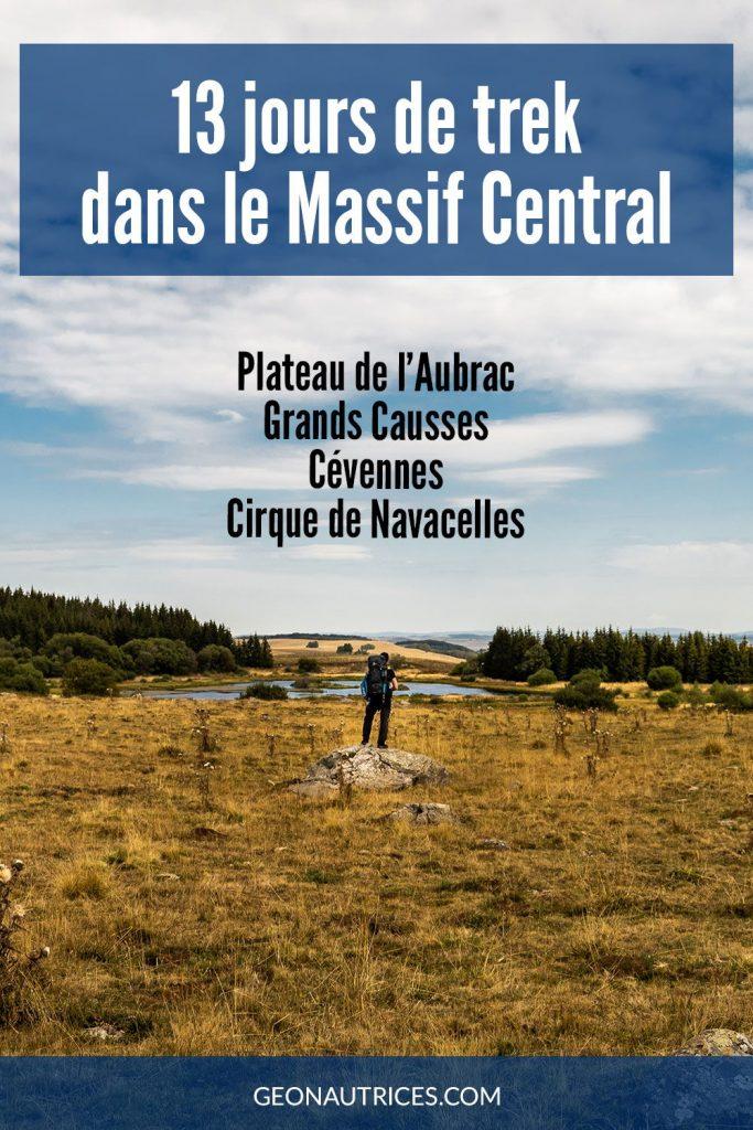 13 jours de randonnée dans le Massif Central sur le Chemin de Saint-Guilhem. Article complet.  #randonnée #saintguilhem #massifcentral