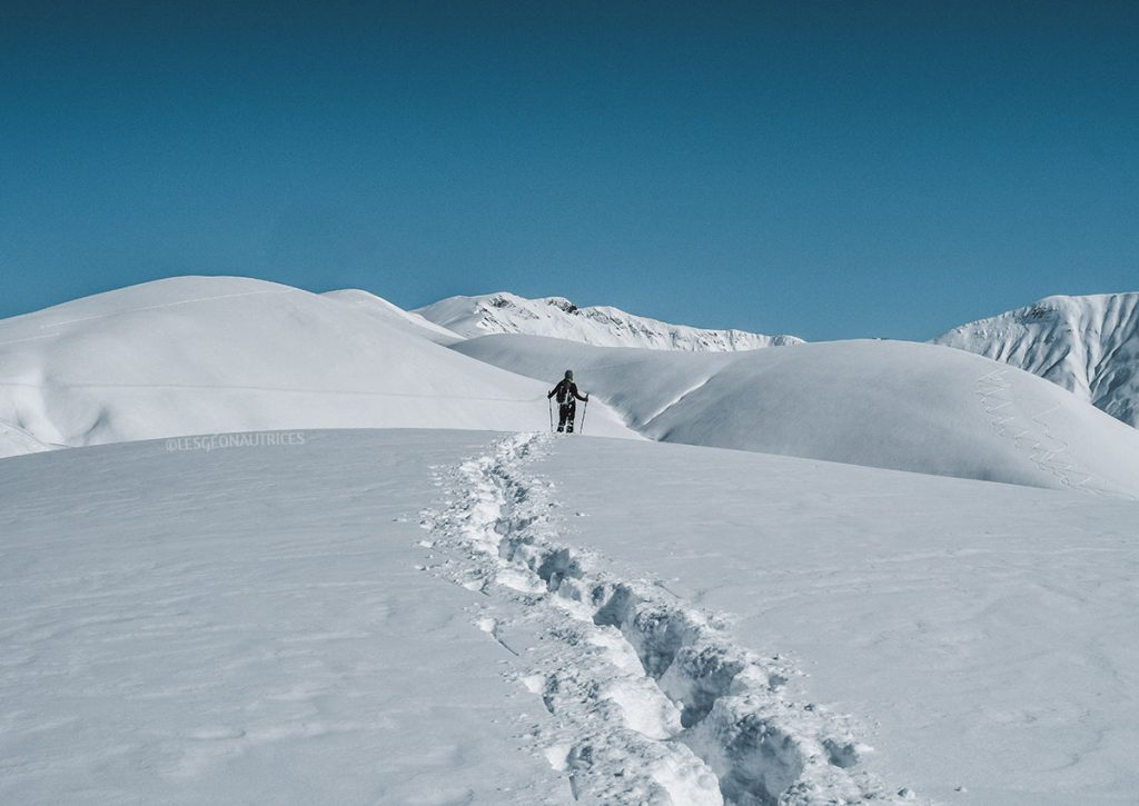 Micro-aventure en montagne en France