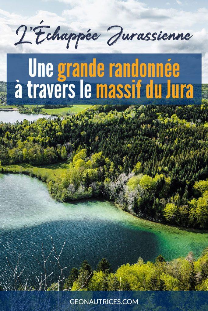 L'Échappée Jurassienne, une grande randonnée à travers le massif du Jura. À la découverte des trésors du Jura : cascades, lacs, forêts, points de vue à couper le souffle... Article complet sur le blog.