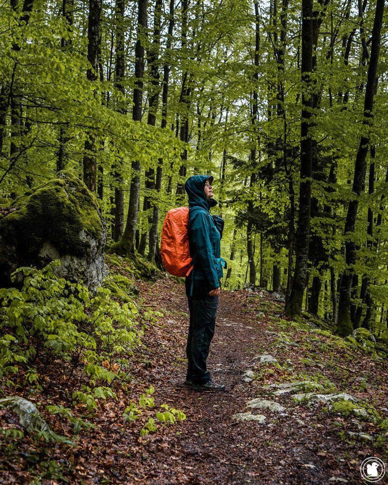 Randonner dans le Jura sur l'Echappée Jurassienne