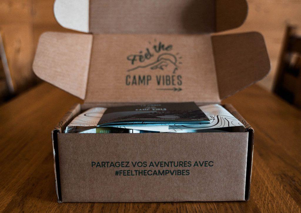 Box Camp Vibes pour les randonneurs
