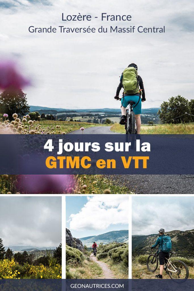 4 jours de VTT sur la GTMC (Grande Traversée du Massif Central). À la découverte des paysages et fromages de la Lozère. Voici notre article complet sur cette itinérance.