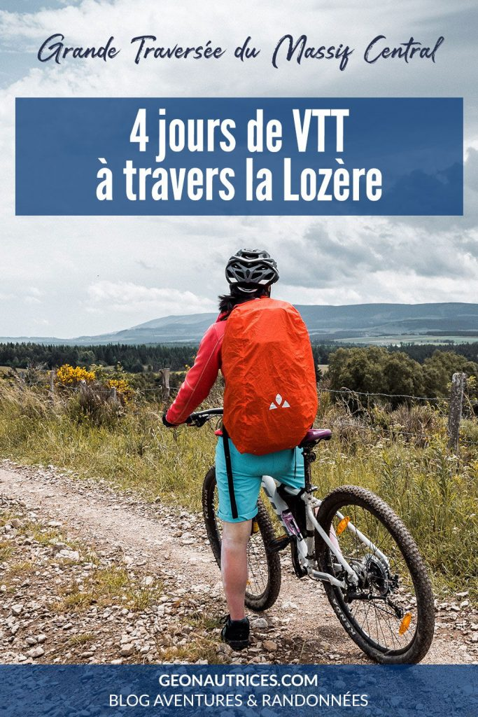 4 jours de VTT à travers la Lozère sur le tronçon de la GTMC labellisée Vélo & Fromages. Découvrez notre article complet sur cette itinérance.