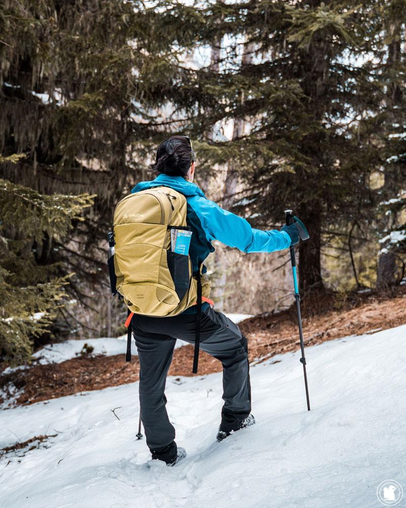 Test sac à dos randonnée Vaude Wizard 30+4
