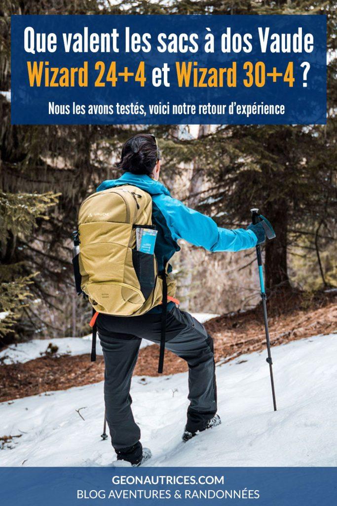 Que valent les sacs à dos de randonnée Wizard 24+4 litres et 30+4 litres de la marque Vaude ?Nous les avons testés lors de nombreuses sorties en randonnée et en VTT. Voici notre avis sur ces sacs qui sont de très bons compagnons de randonnée.